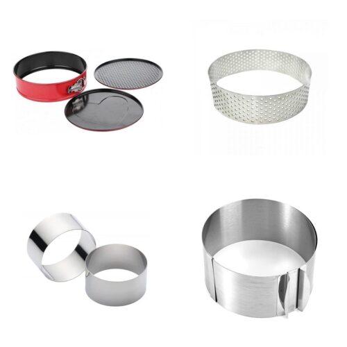Кольца и формы металл